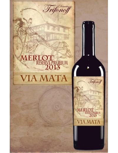 Via Mata  Merlot reserve premium 2013