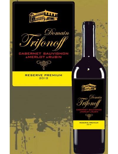 Cabernet sauvignon, merlot, rubin reserve premium 2013